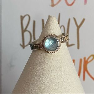 Anna Beck 925 Sterling Silver Ring Size 6